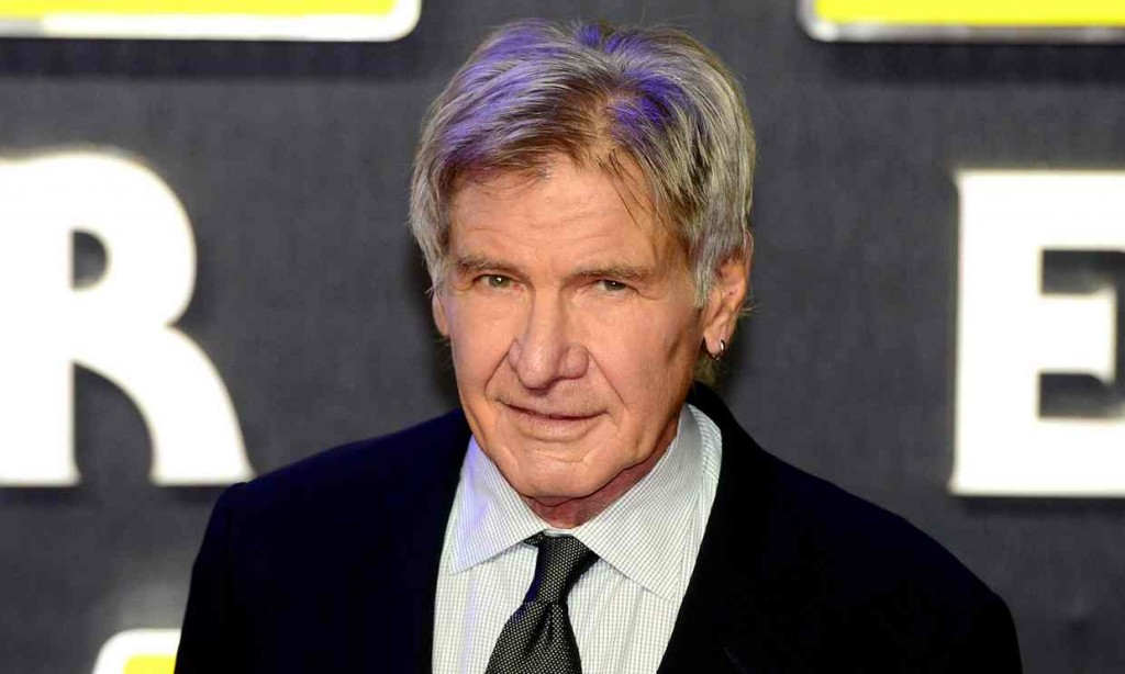 Harrison Ford was the victim of an on-set accident